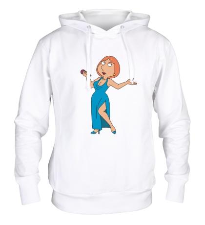 Толстовка с капюшоном Лоис Гриффин в платье