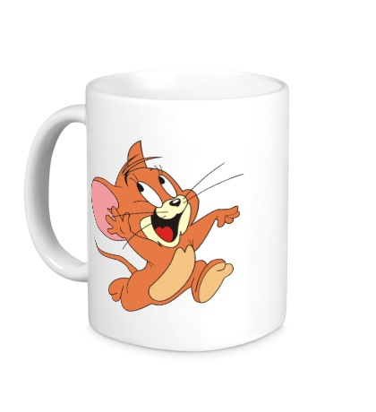 Керамическая кружка Веселый Джерри