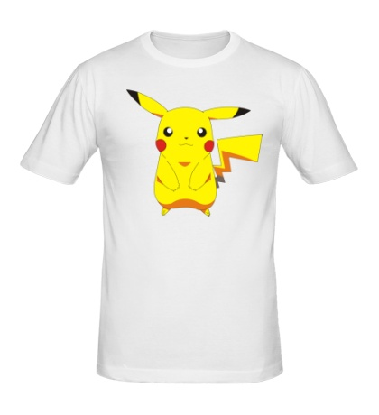 Мужская футболка Милый Пикачу