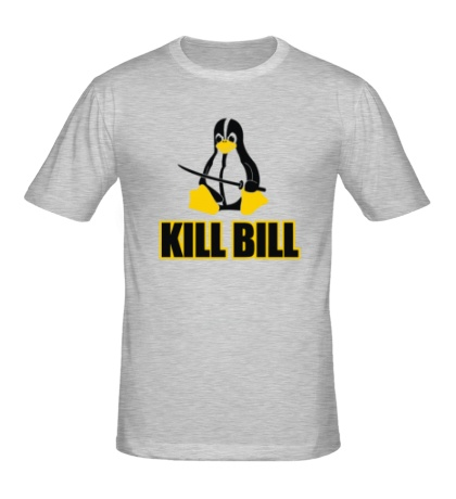 Мужская футболка Linux kill Bill