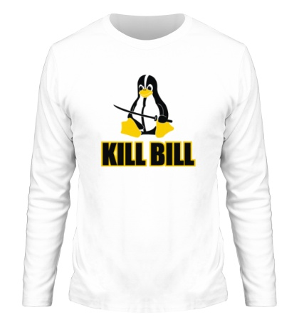 Мужской лонгслив Linux kill Bill