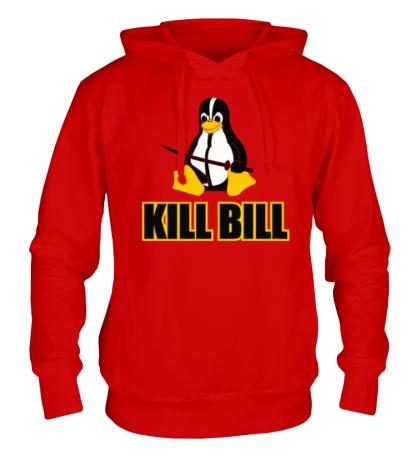 Толстовка с капюшоном Linux kill Bill
