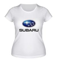 Женская футболка Subaru Mark