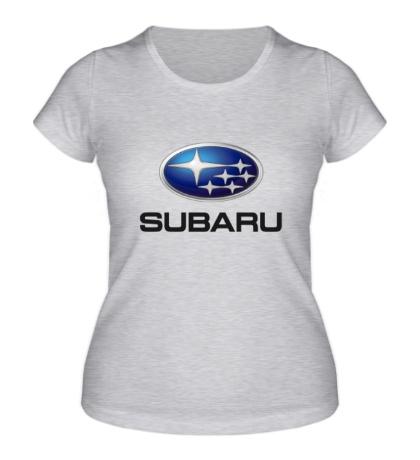 Женская футболка «Subaru Mark»