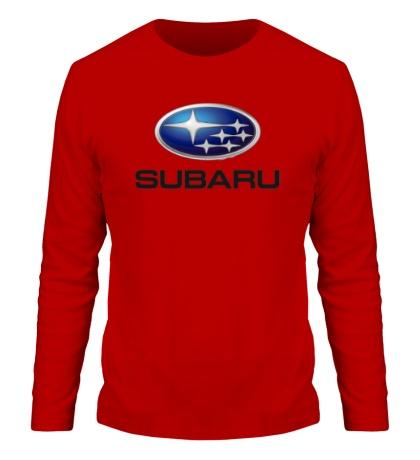 Мужской лонгслив Subaru Mark