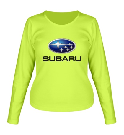 Женский лонгслив Subaru Mark