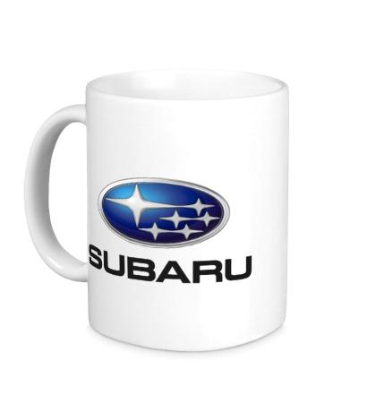 Керамическая кружка Subaru Mark