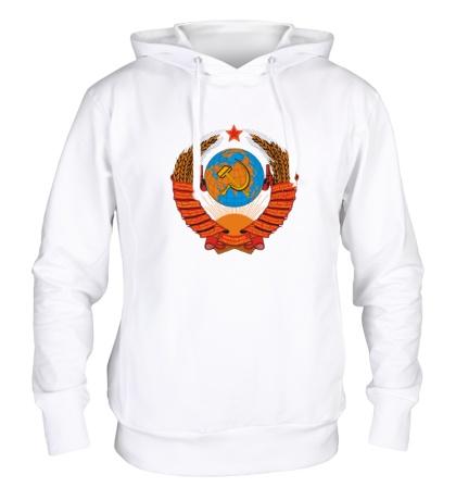 Толстовка с капюшоном Звездный герб СССР