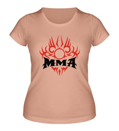 Женская футболка MMA mixfight