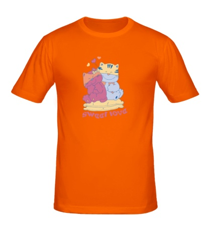 Мужская футболка Sweet Love