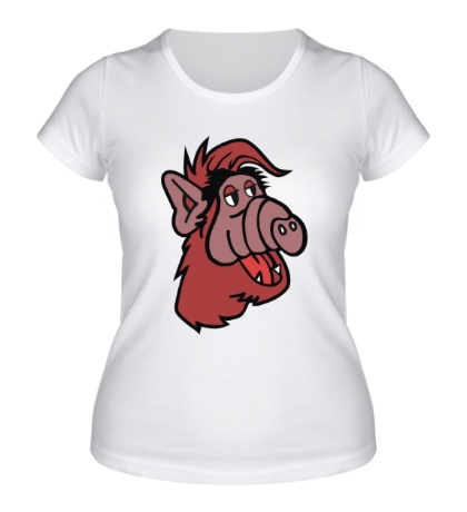 Женская футболка Альф