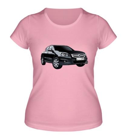 Женская футболка Honda Accord