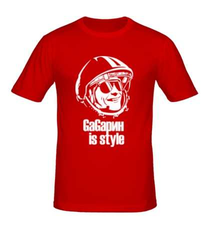Мужская футболка Gagarin is Style