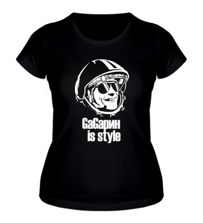 Женская футболка Gagarin is Style