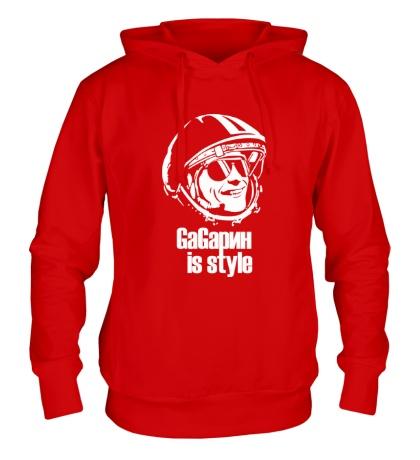 Толстовка с капюшоном Gagarin is Style