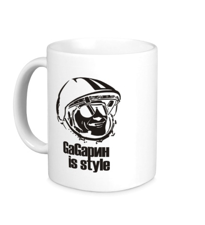 Керамическая кружка Gagarin is Style