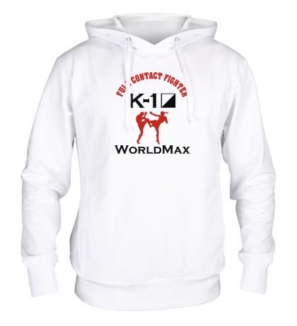 Толстовка с капюшоном K-1 World Max