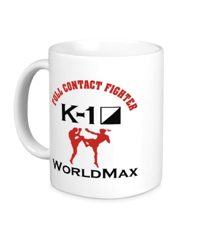 Керамическая кружка K-1 World Max