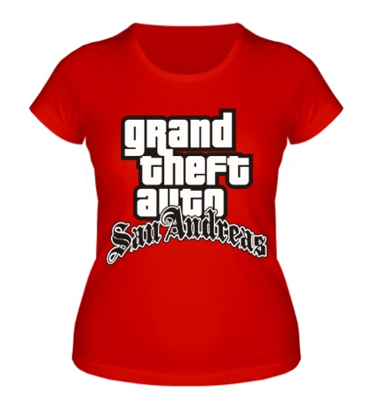 Женская футболка GTA: San Andreas