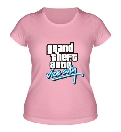 Женская футболка GTA: Vice City