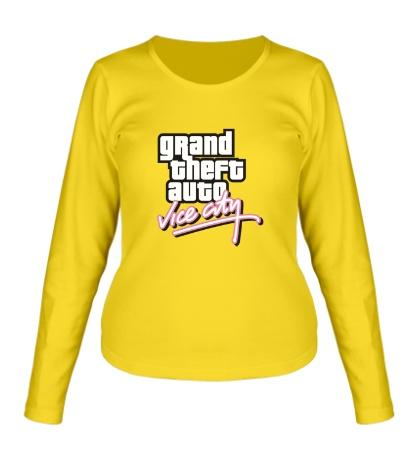 Женский лонгслив GTA: Vice City