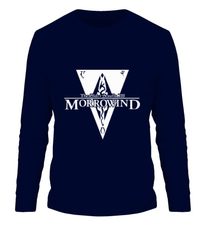 Мужской лонгслив Morrowind