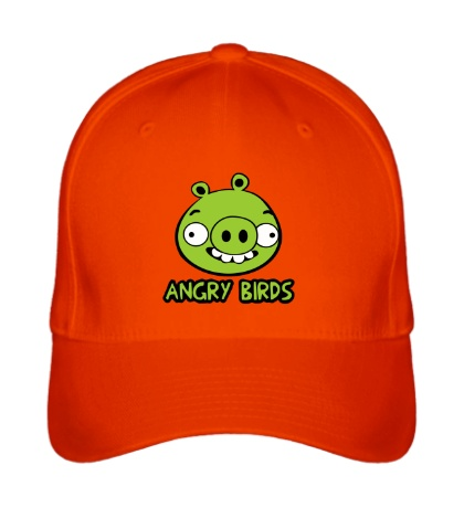 Бейсболка Anrgy Birds: Green Pig