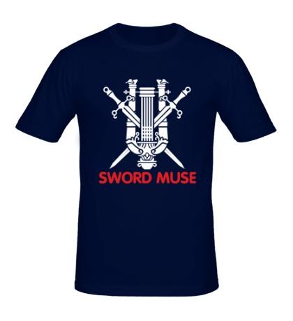 Мужская футболка Elf Fighter: Sword Muse