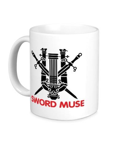 Керамическая кружка Elf Fighter: Sword Muse
