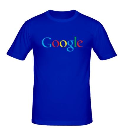 Мужская футболка Google