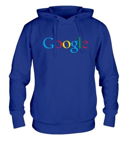 Толстовка с капюшоном Google