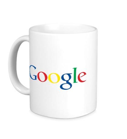 Керамическая кружка Google