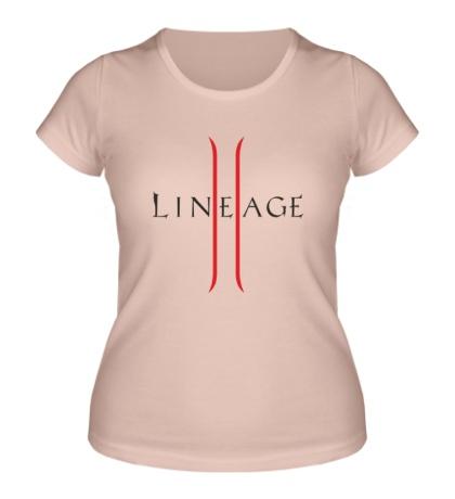 Женская футболка Lineage 2