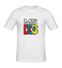 Мужская футболка MS DOS