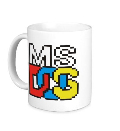 Керамическая кружка MS DOS