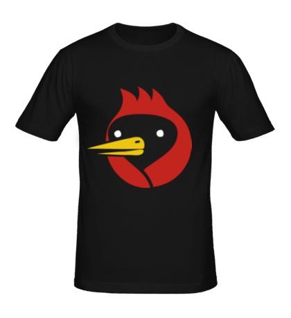Мужская футболка Омская птица
