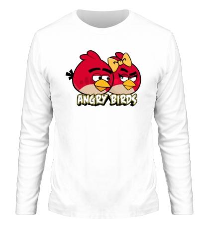 Мужской лонгслив Angry Birds