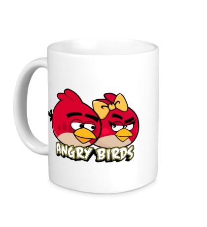 Керамическая кружка Angry Birds