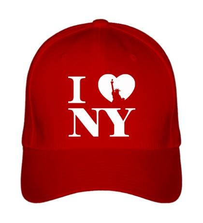 Бейсболка NY Love