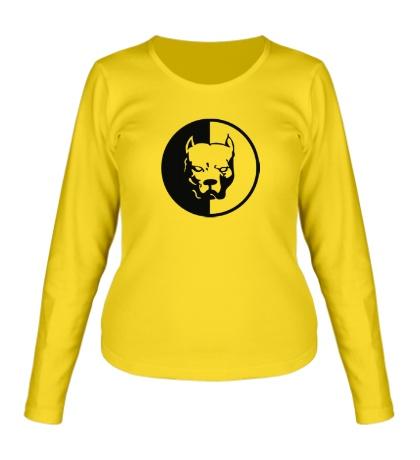 Женский лонгслив Pitbull Logo