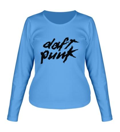 Женский лонгслив Daft Punk