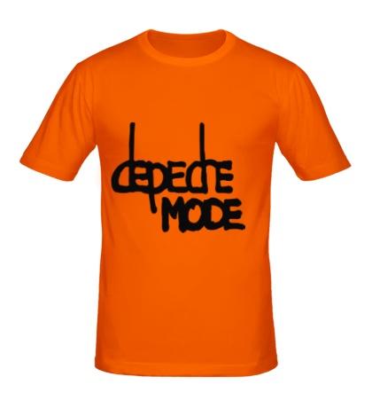 Мужская футболка Depeche Mode