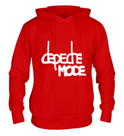 Толстовка с капюшоном Depeche Mode