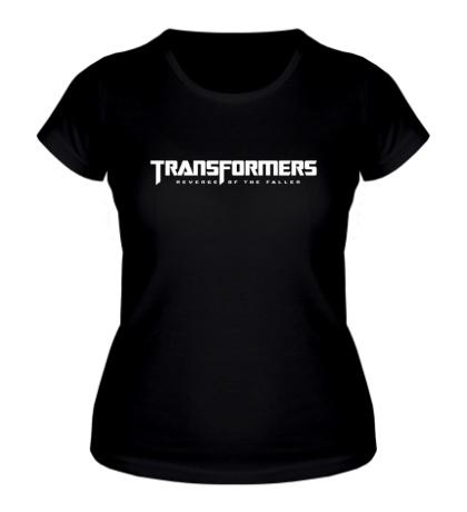 Женская футболка Трансформеры