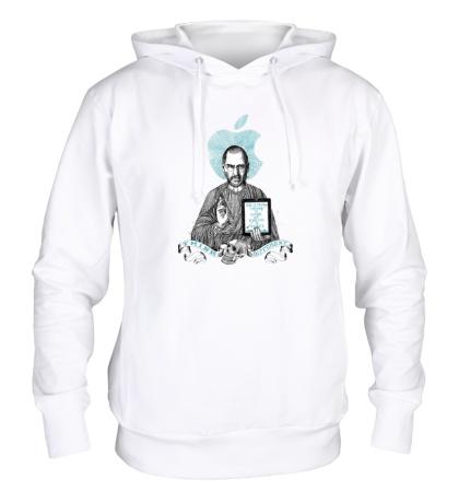 Толстовка с капюшоном Стив Джобс, Think different