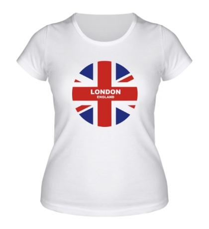 Женская футболка England: London