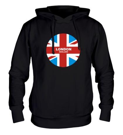 Толстовка с капюшоном England: London