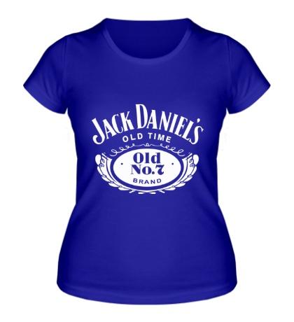 Женская футболка «Jack Daniels: Old Time»