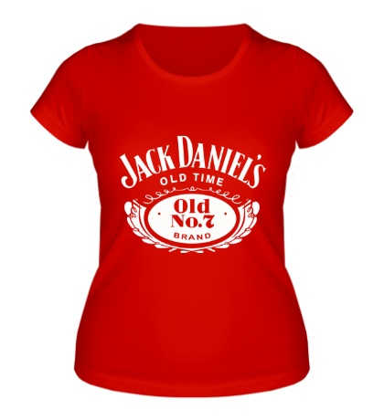 Женская футболка Jack Daniels: Old Time
