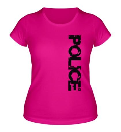 Женская футболка Police Unit